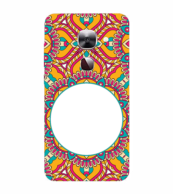 Cool Patterns Photo Back Cover for LeEco Le 2s