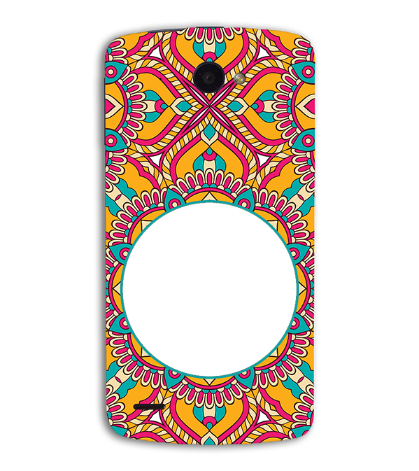 Cool Patterns Photo Back Cover for Lenovo S920