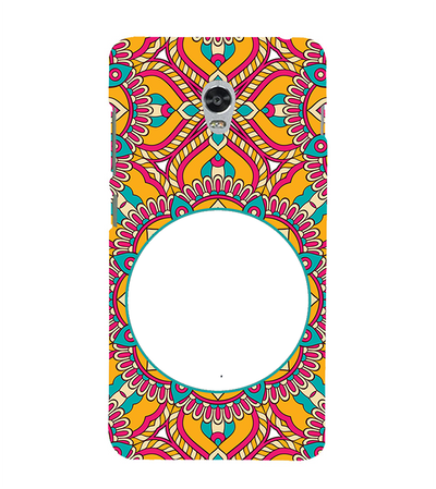 Cool Patterns Photo Back Cover for Lenovo Vibe P1