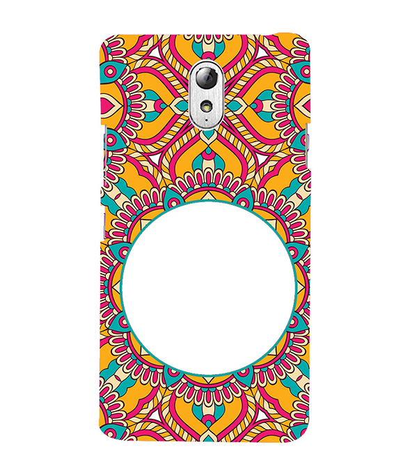 Cool Patterns Photo Back Cover for Lenovo Vibe P1M