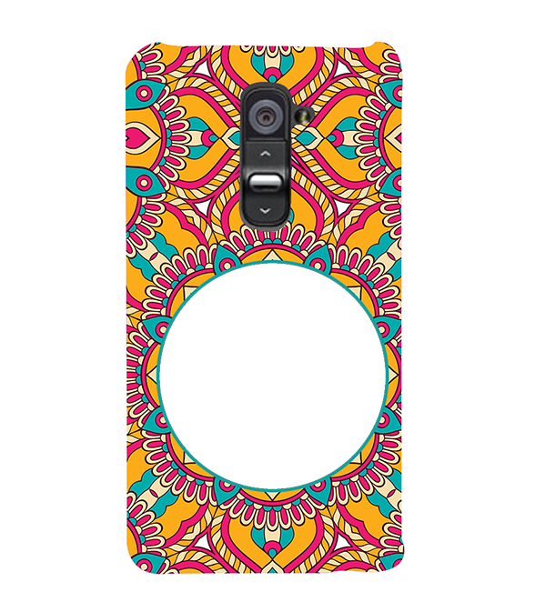 Cool Patterns Photo Back Cover for LG G2