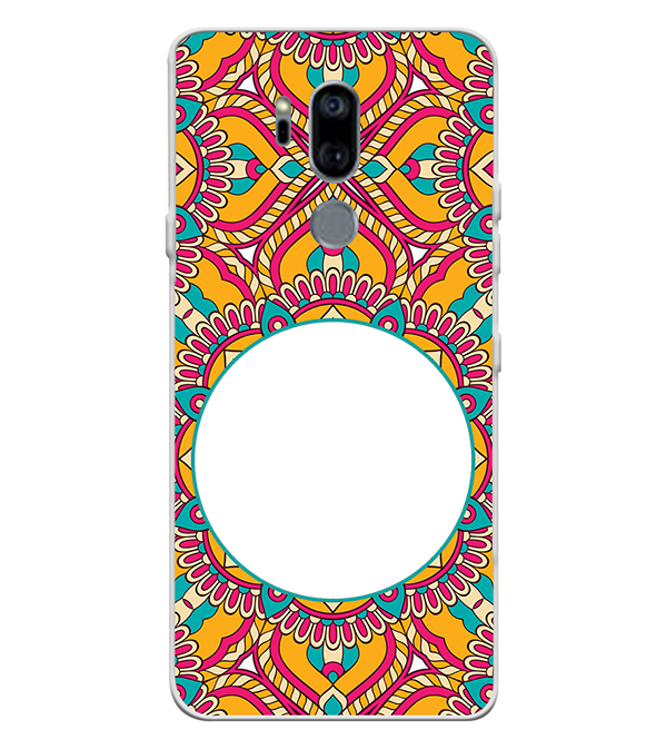 Cool Patterns Photo Back Cover for LG G7
