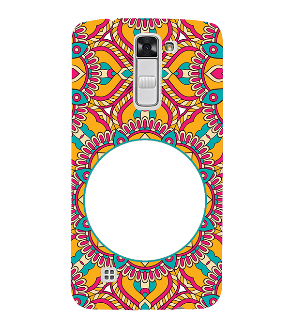 Cool Patterns Photo Back Cover for LG K10