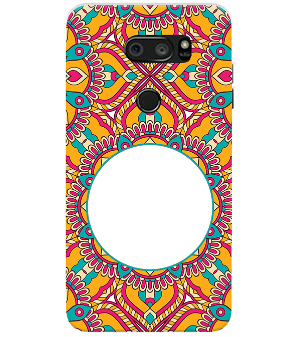 Cool Patterns Photo Back Cover for LG V30