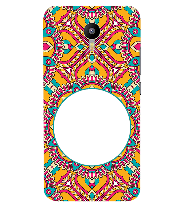 Cool Patterns Photo Back Cover for Meizu M2