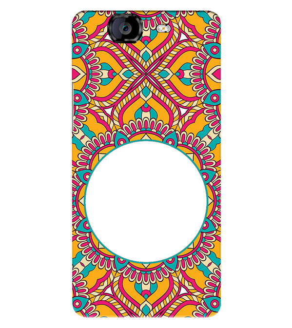 Cool Patterns Photo Back Cover for Micromax A350 Canvas Knight