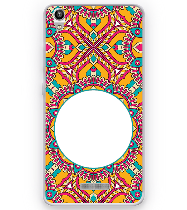 Cool Patterns Photo Back Cover for Micromax Canvas Fire 5 Q386