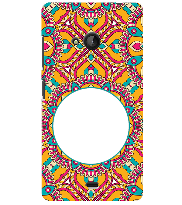 Cool Patterns Photo Back Cover for Microsoft Lumia 540