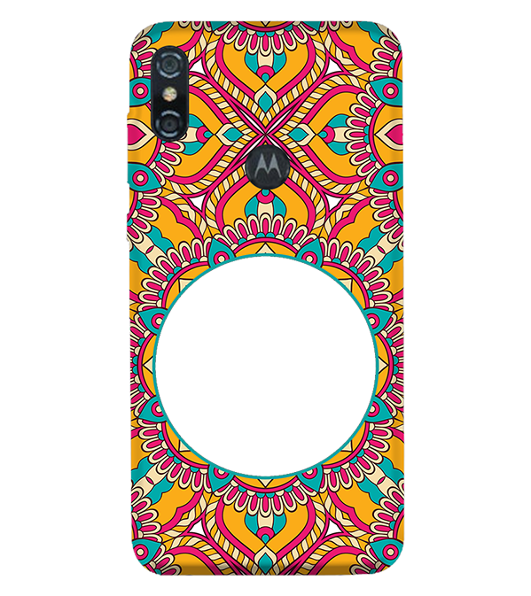 Cool Patterns Photo Back Cover for Motorola One (P30 Play)