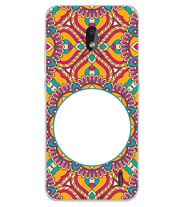 Cool Patterns Photo Back Cover for Nokia 2.2