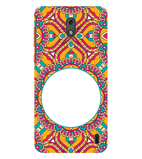 Cool Patterns Photo Back Cover for Nokia 2