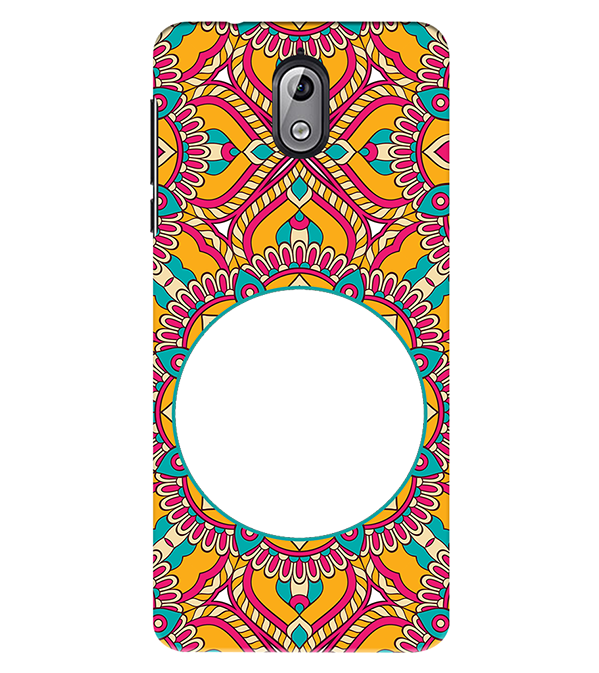 Cool Patterns Photo Back Cover for Nokia 3.1 (2018)