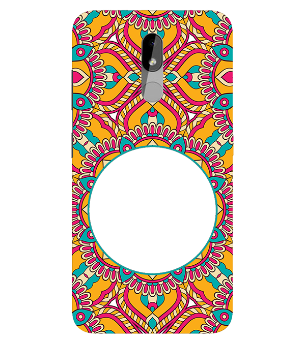 Cool Patterns Photo Back Cover for Nokia 3.2