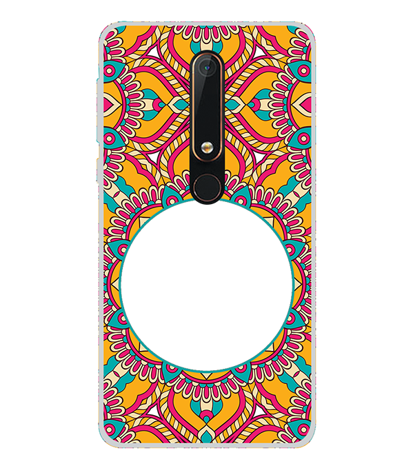Cool Patterns Photo Back Cover for Nokia 6.1 (2018)