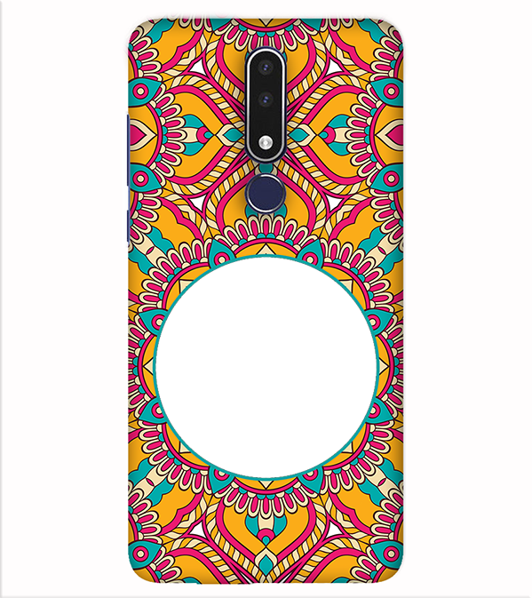 Cool Patterns Photo Back Cover for Nokia 7.1