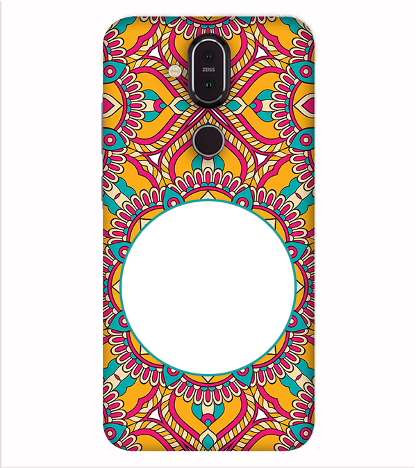 Cool Patterns Photo Back Cover for Nokia 8.1 (Nokia X7)