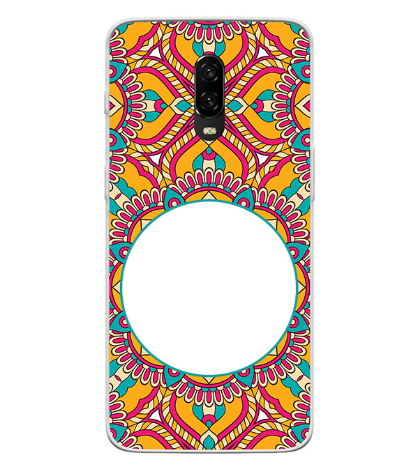 Cool Patterns Photo Back Cover for OnePlus 6T