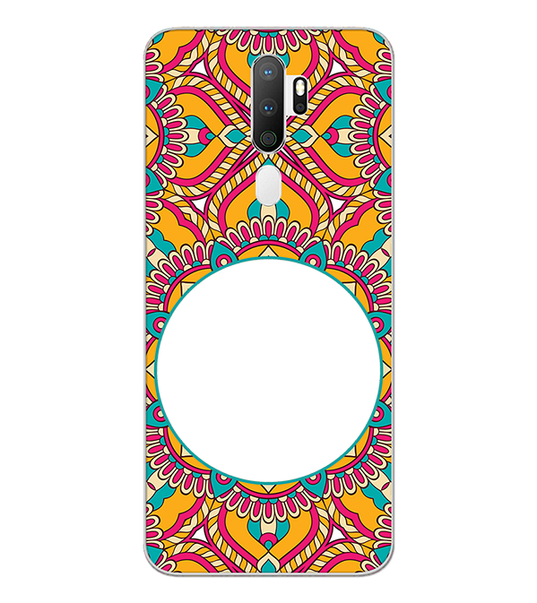 Cool Patterns Photo Back Cover for Oppo A5 (2020)
