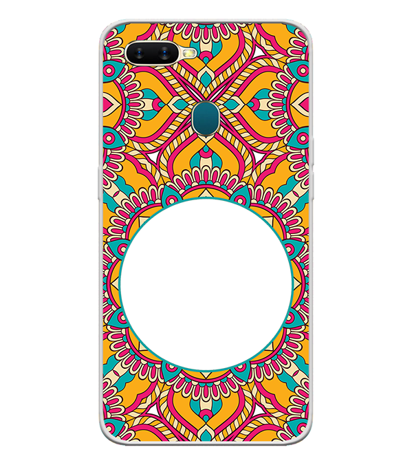 Cool Patterns Photo Back Cover for Oppo A7