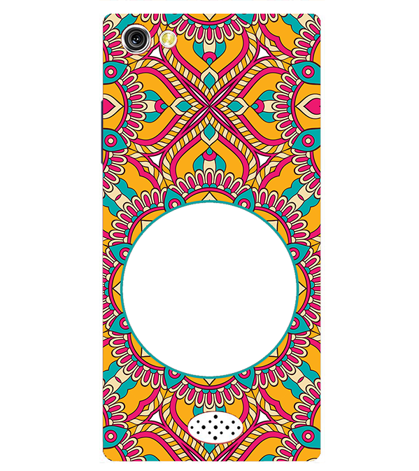 Cool Patterns Photo Back Cover for Oppo Neo 5