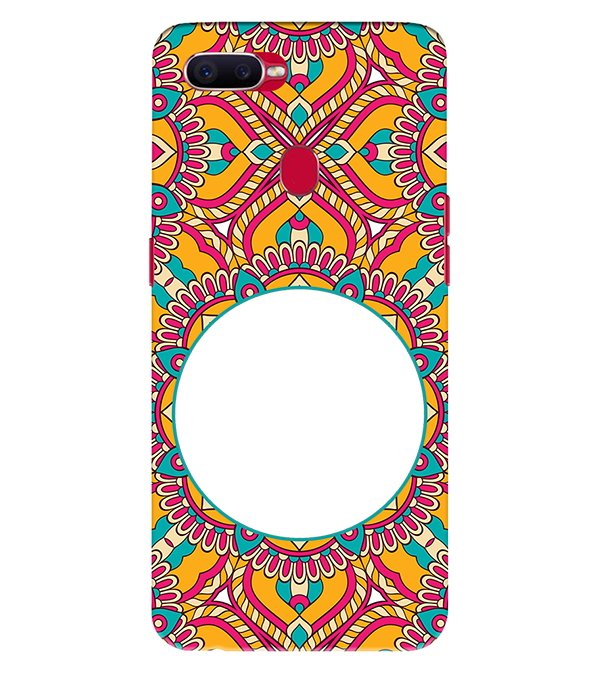 Cool Patterns Photo Back Cover for Oppo Realme 2 Pro