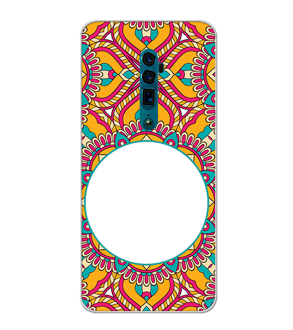 Cool Patterns Photo Back Cover for Oppo Reno 10x zoom