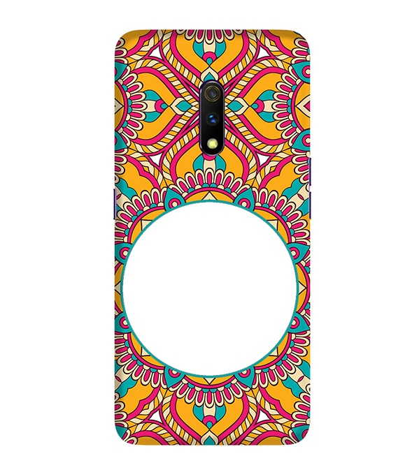 Cool Patterns Photo Back Cover for Realme X