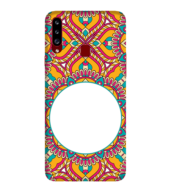 Cool Patterns Photo Back Cover for Samsung Galaxy A20s