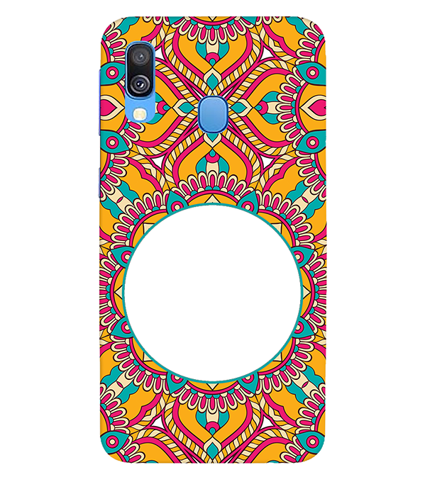 Cool Patterns Photo Back Cover for Samsung Galaxy A40