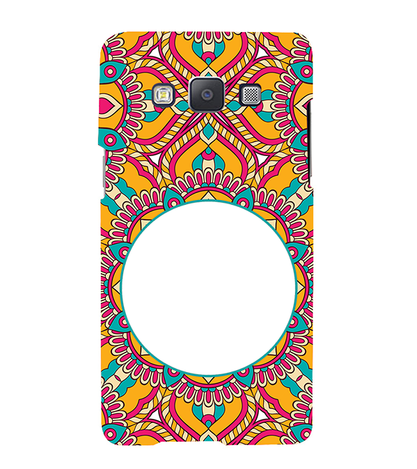 Cool Patterns Photo Back Cover for Samsung Galaxy A7 (2015)