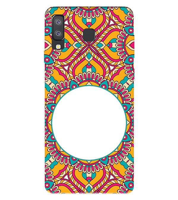 Cool Patterns Photo Back Cover for Samsung Galaxy A8 Star