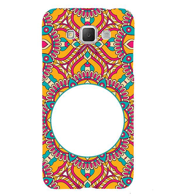 Cool Patterns Photo Back Cover for Samsung Galaxy Grand Max G720