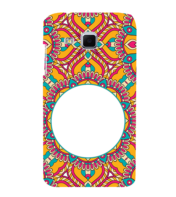 Cool Patterns Photo Back Cover for Samsung Galaxy J3