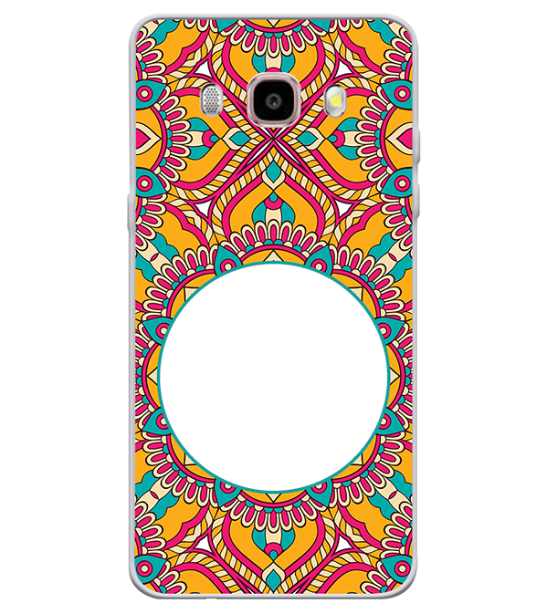 Cool Patterns Photo Back Cover for Samsung Galaxy J7 (6) 2016 : Galaxy On 8