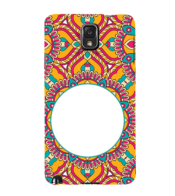 Cool Patterns Photo Back Cover for Samsung Galaxy Note 3