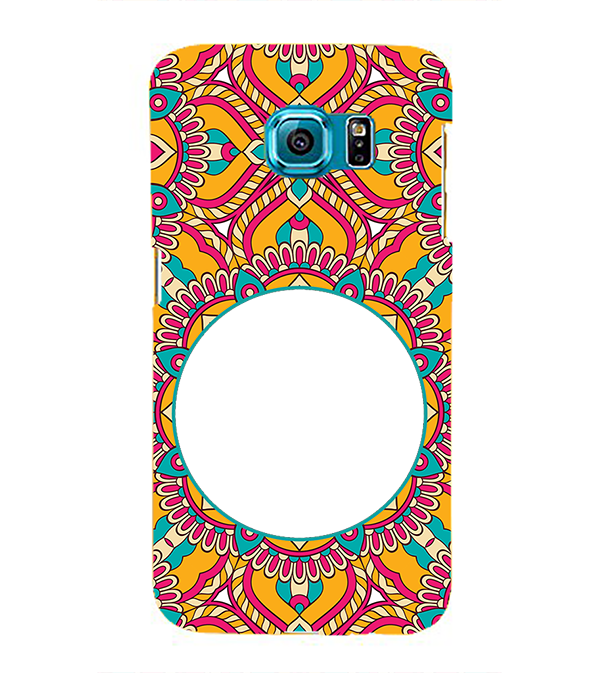 Cool Patterns Photo Back Cover for Samsung Galaxy S6 Edge