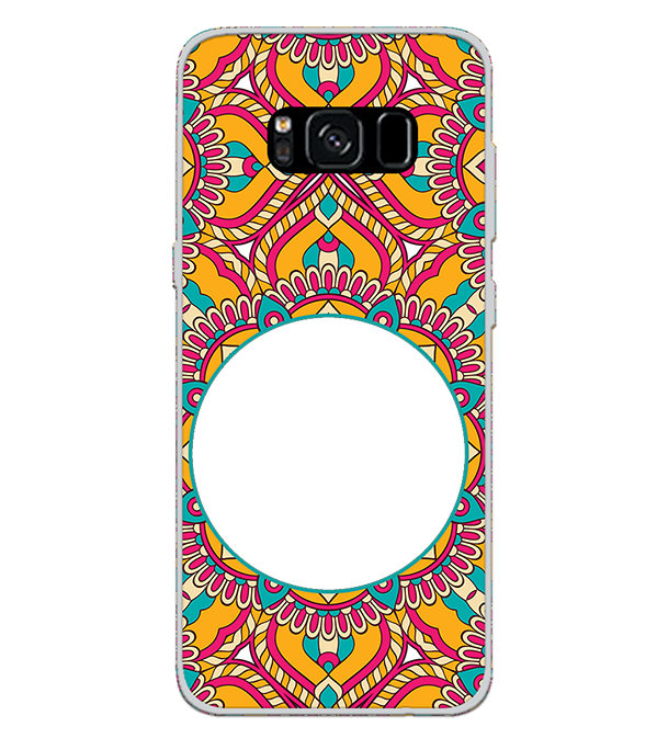 Cool Patterns Photo Back Cover for Samsung Galaxy S8