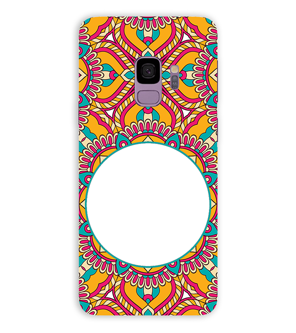 Cool Patterns Photo Back Cover for Samsung Galaxy S9