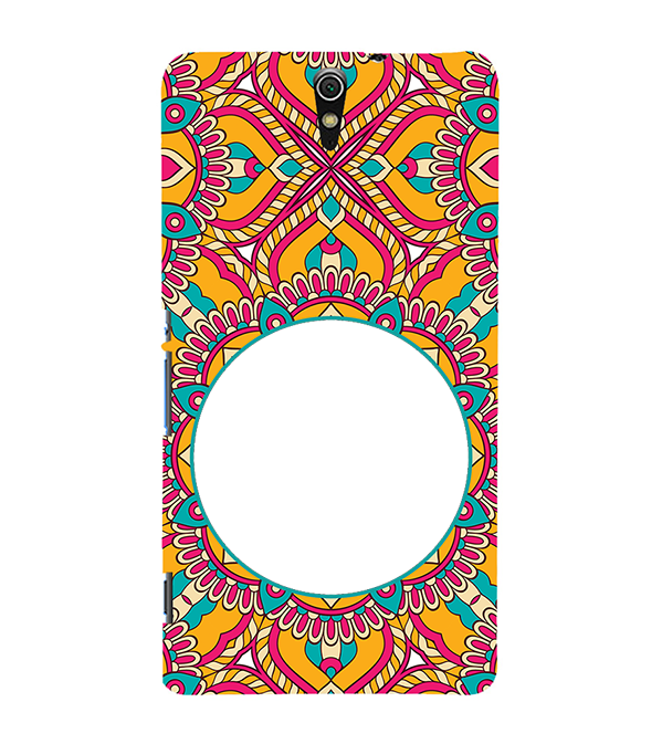 Cool Patterns Photo Back Cover for Sony Xperia C5