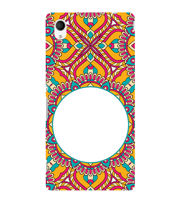 Cool Patterns Photo Back Cover for Sony Xperia M4 Aqua