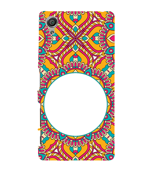 Cool Patterns Photo Back Cover for Sony Xperia X