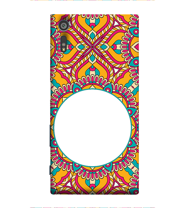 Cool Patterns Photo Back Cover for Sony Xperia XR