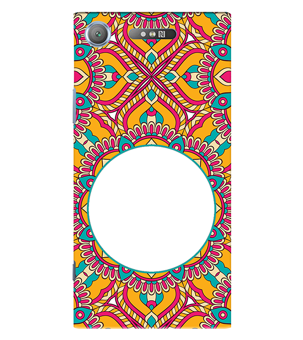 Cool Patterns Photo Back Cover for Sony Xperia XZ1