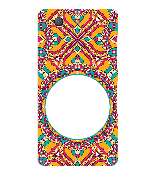 Cool Patterns Photo Back Cover for Sony Xperia Z3+ and Xperia Z4
