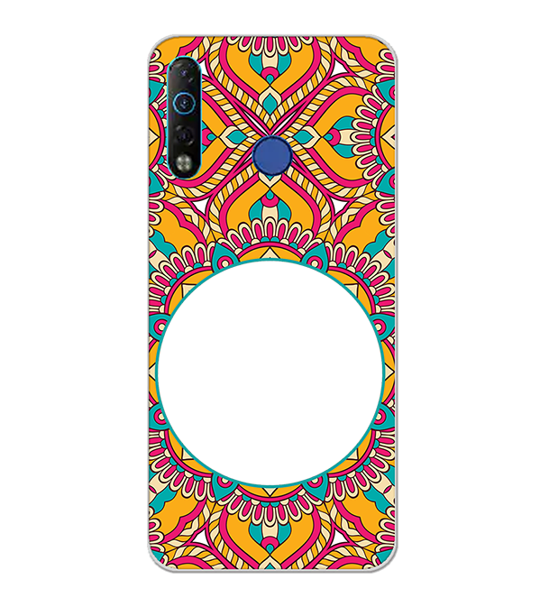 Cool Patterns Photo Back Cover for Tecno Camon 12 Air
