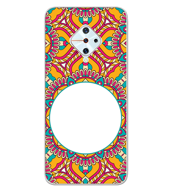 Cool Patterns Photo Back Cover for Vivo S1 Pro