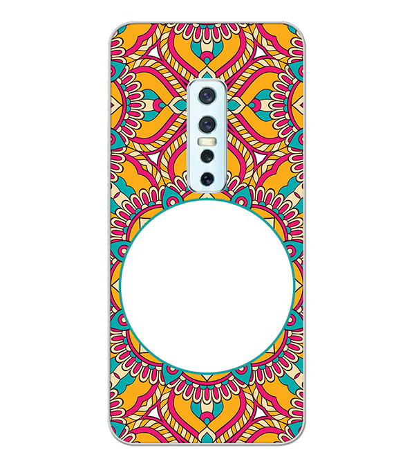 Cool Patterns Photo Back Cover for Vivo V17 Pro