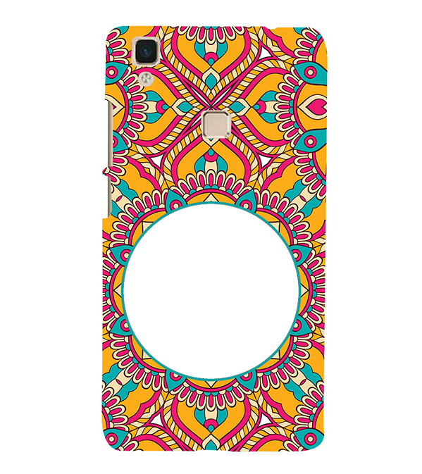 Cool Patterns Photo Back Cover for Vivo V3Max