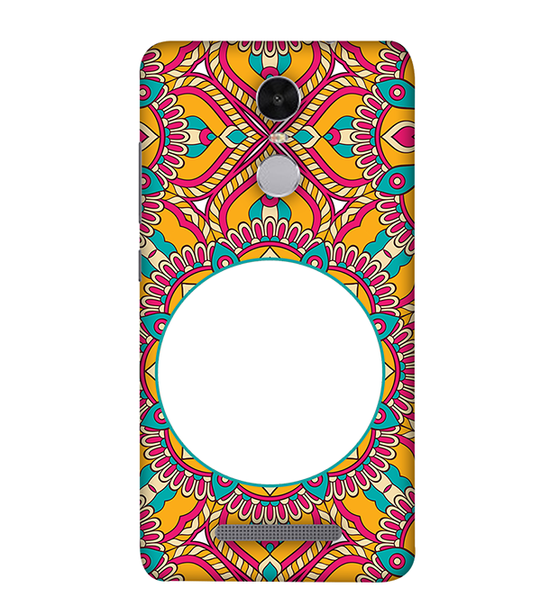 Cool Patterns Photo Back Cover for Xiaomi Redmi Note 4
