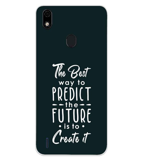Create the Future Back Cover for Lava Z52 Pro